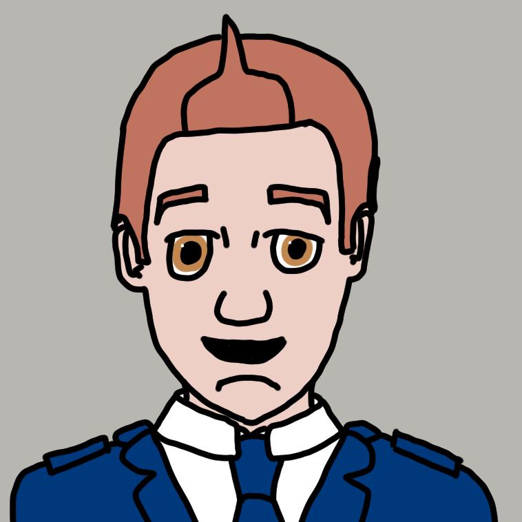 Captain and Communications Officer Samuel Pierce